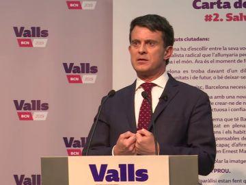 """Valls: """"El populismo de Colau está creando un ámbito favorable a los intereses del mundo separatista"""""""