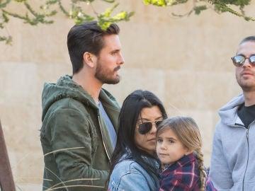 Scott Disck, Kourtney Kardashian y su hija Penélope