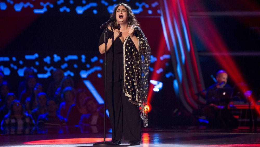 VÍDEO: Marta 'La Niña' canta 'Nana del caballo grande' en las 'Audiciones a ciegas' de 'La Voz'
