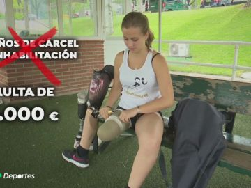 Rebajan de una condena de cárcel a una multa la pena para el traumatólogo que atendió a la gimnasta que perdió una pierna