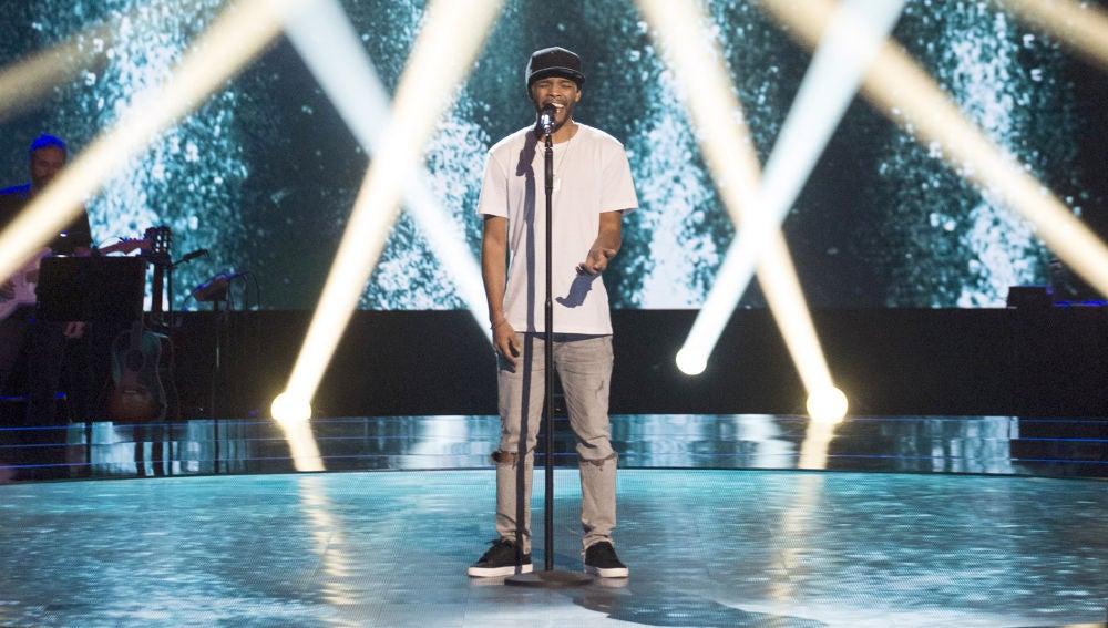 Marcelino Damion canta 'Jelous' en las 'Audiciones a ciegas' de 'La Voz'