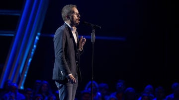 Vídeo: Ángel Cortés canta 'Una furtiva lágrima' en las 'Audiciones a ciegas'