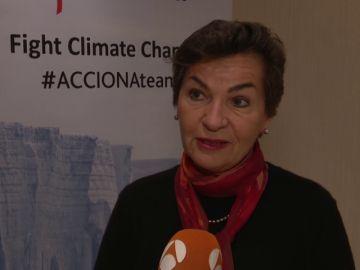 Christiana Figueres constata el cambio climático