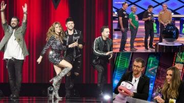 Liderazgos de Antena 3 el lunes