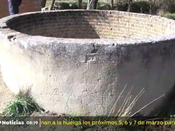 Imagen del pozo de Villanueva del Trabuco