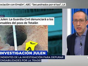 La Guardia Civil denunciará al tío de Julen por el pozo ilegal en la finca de Totalán
