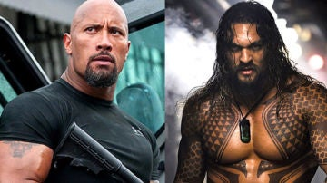 Dwayne Johnson y Jason Momoa
