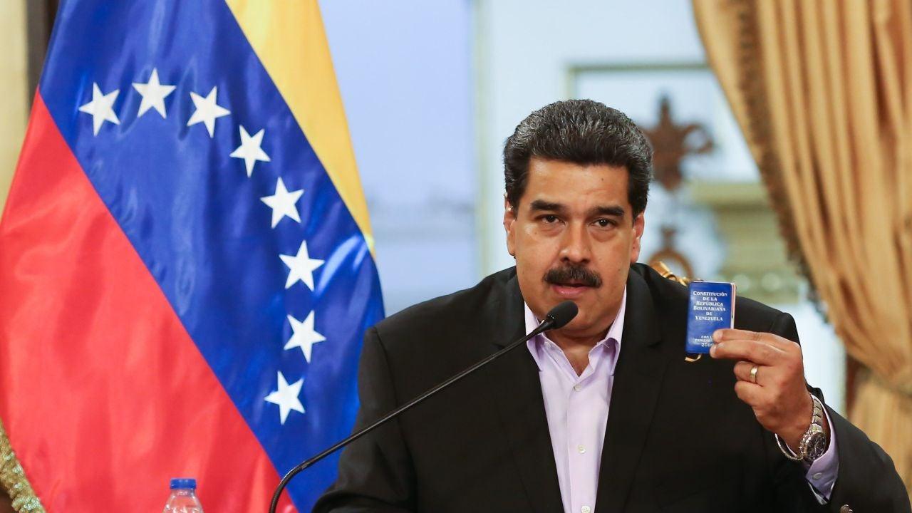 Resultado de imagen de Maduro se muestra dispuesto a adelantar las elecciones legislativas pero no las presidenciales