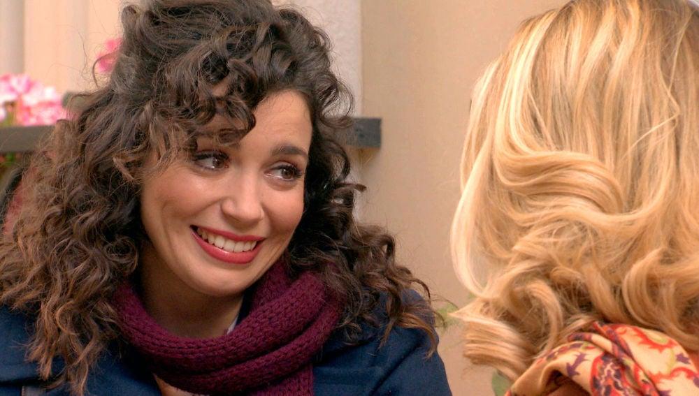 Amelia, feliz con la confesión de Luisita