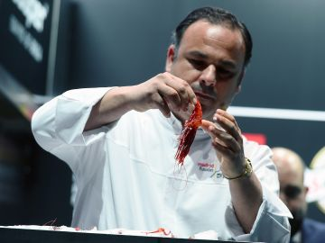 El cocinero Ángel León, chef del restaurante gaditano Aponiente