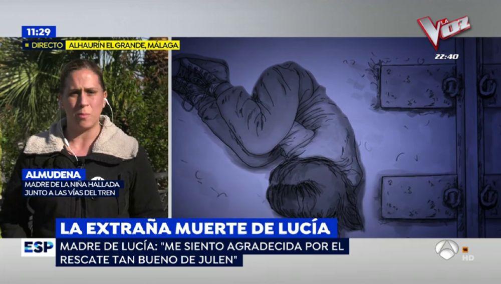 La desesperación de la madre de Lucía Vivar