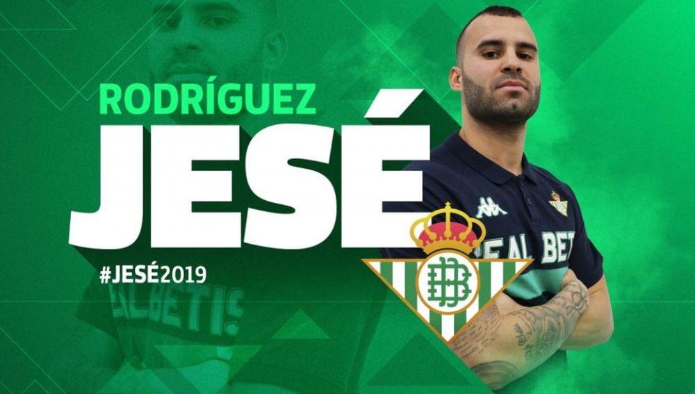 Jesé, nuevo jugador del Betis