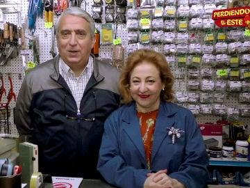 Leo Harlem y Carmen Machi en 'Perdiendo el Este'