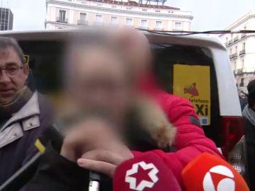 """Una niña animada por su padre taxista contra las VTC: """"Vamos a conseguir aplastar de una vez a esas asquerosas cucarachas"""""""