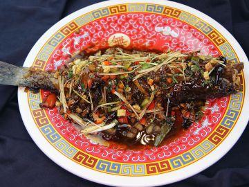 El pescado, símbolo del Año Nuevo chino.
