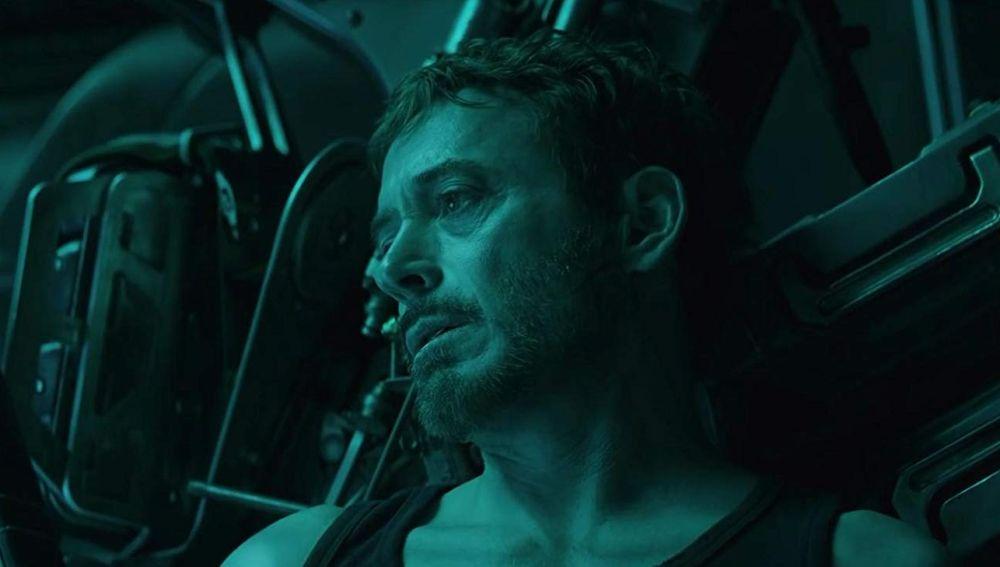 Tony Stark en 'Vengadores: Endgame'