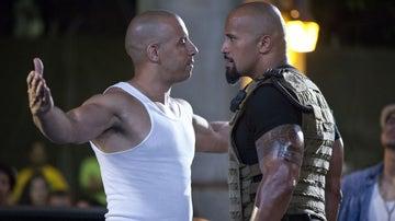 Vin Diesel y Dwayne Johnson en 'Fast and Furious'