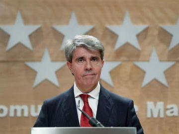 El expresidente de la Comunidad de Madrid, Ángel Garrido