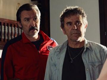 """Don Julio, a Pascual y Teo tras probar la droga de Almudena: """"O me estáis traicionando o sois dos deficientes mentales"""""""