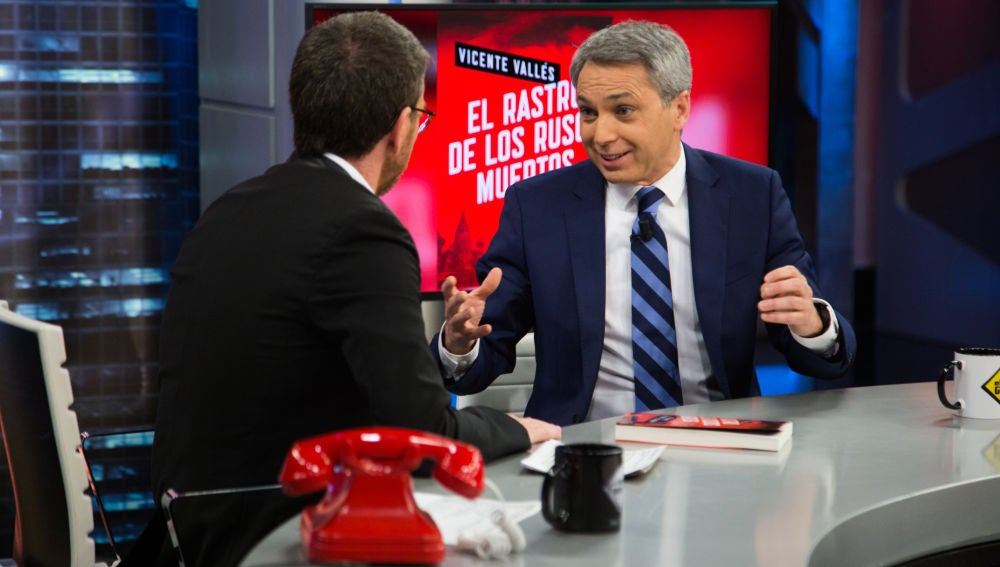 Vicente Vallés responde en 'El Hormiguero 3.0': ¿Es más peligroso Putin o Donald Trump?