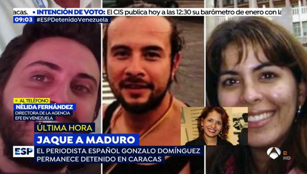 """La directora de EFE Venezuela confirma la detención de un periodista español: """"Esto ha sido un secuestro"""""""