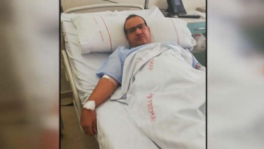 Un conductor de VTC denuncia haber sido agredido en Barajas