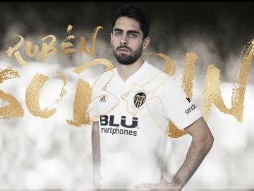 Rubén Sobrino, nuevo jugador del Valencia