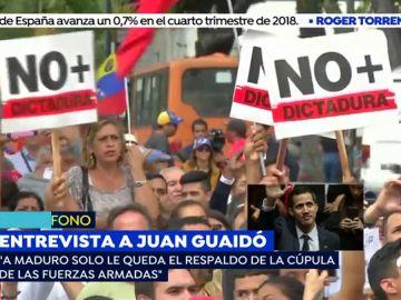 """Juan Guaidó: """"Venezuela no es un problema de derechas ni de izquierdas, es un tema de humanidad"""""""