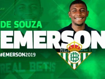 Emerson, nuevo jugador del Betis cedido por el Barça