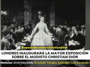 La mayor exposición sobre el modisto Christian Dior