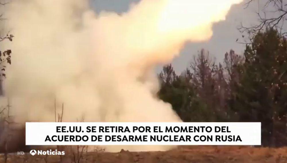 Estados Unidos se retira del tratado INF de desarme nuclear con Rusia