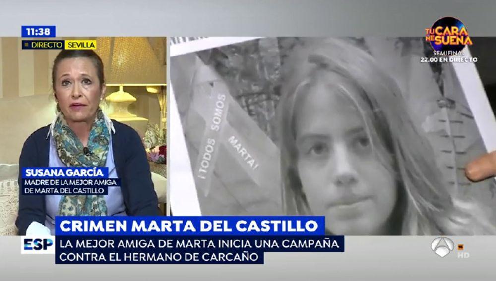 La campaña viral que ha lanzado la mejor amiga de Marta del Castillo contra el anonimato de Francisco Javier Delgado