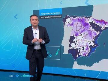 'Helena' dejará nevadas importantes, viento y lluvia en la mayor parte de España