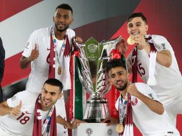 Catar, campeona de la Copa de Asia 2019