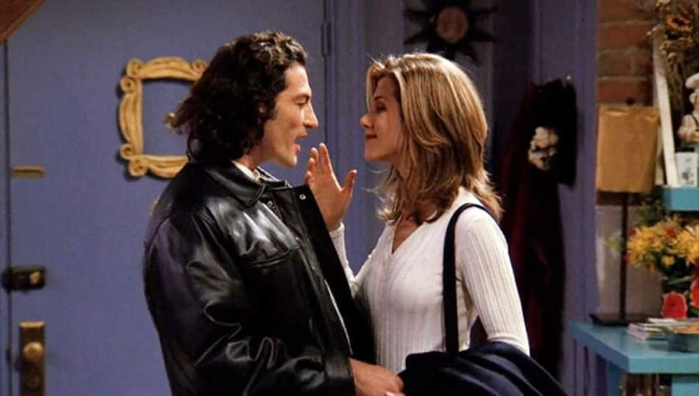 Paolo y Rachel en 'Friends'