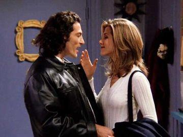 Paolo y Rachel en 'Friends'