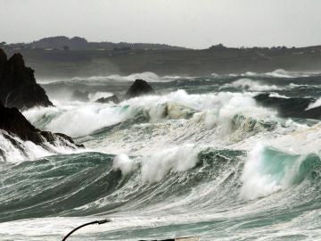 Vista de la costa noroeste de Coruña, en Meirás