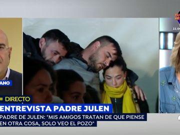 """Primera entrevista al padre de Julen tras la aparición del cuerpo del niño: """"Cierro los ojos y veo lo mismo: el pozo"""""""