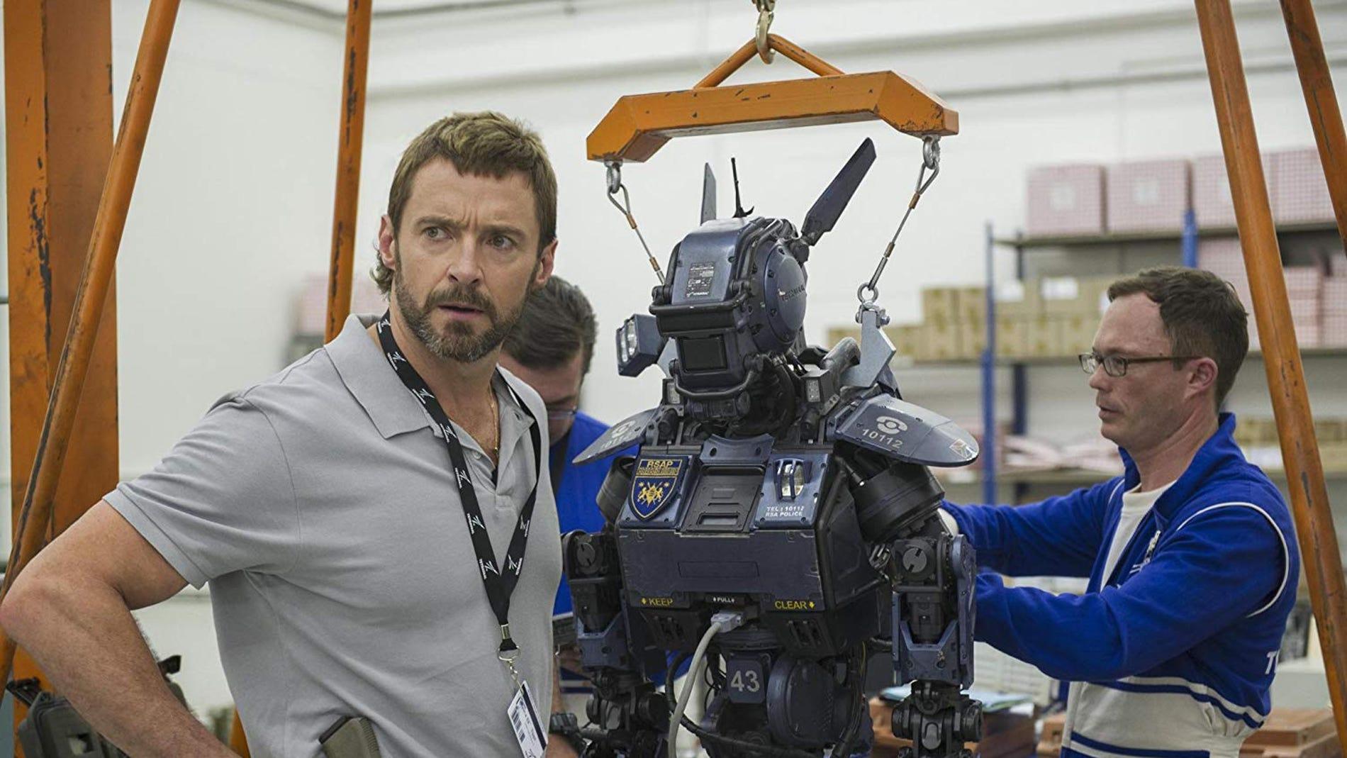 Hugh Jackman en 'Chappie'