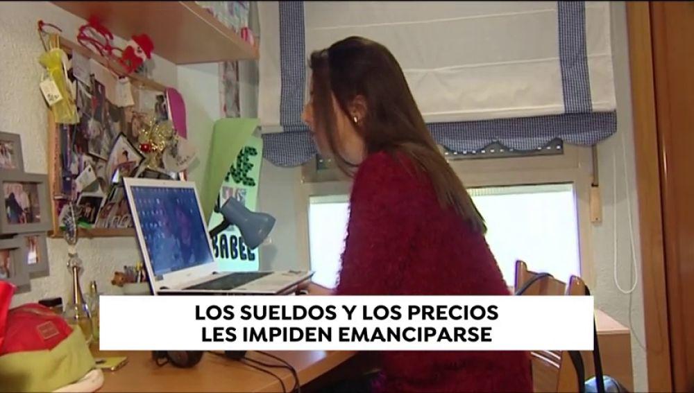 El porcentaje de 'no' emancipación de los jóvenes españoles entre los 16 y 34 años aumenta un 7% en diez años