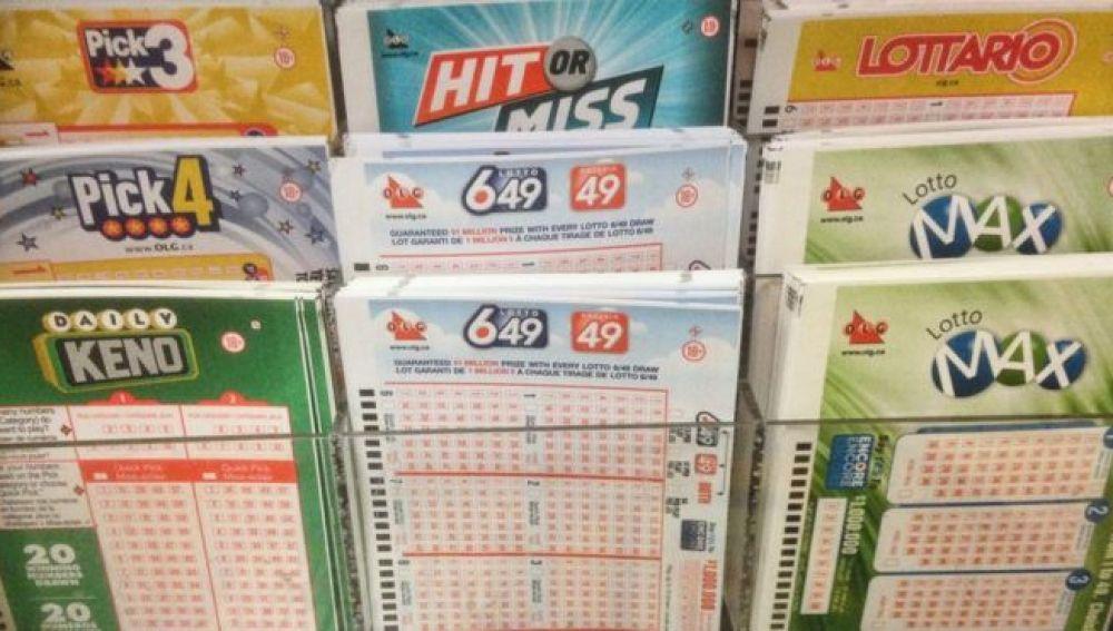 Juegos de Lotería en Canadá
