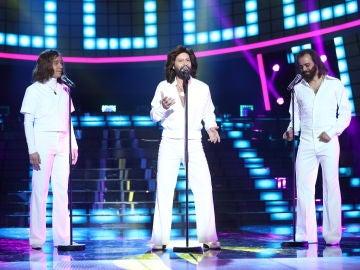 Vídeo actuación Miquel Fernández como Bee Gees