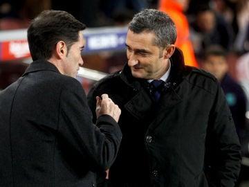 Valverde saluda a Marcelino