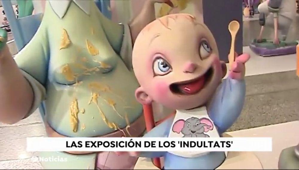 Dos 'ninots' se salvarán del fuego en las Fallas de Valencia