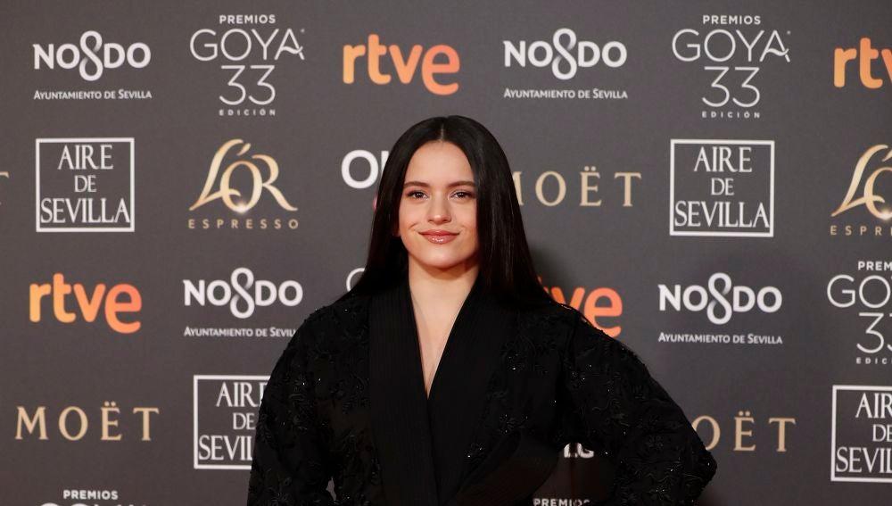 La cantante Rosalía de Juan Vidal