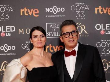 Los presentadores de los Premios Goya 2019, Silvia Abril y Andreu Buenafuente