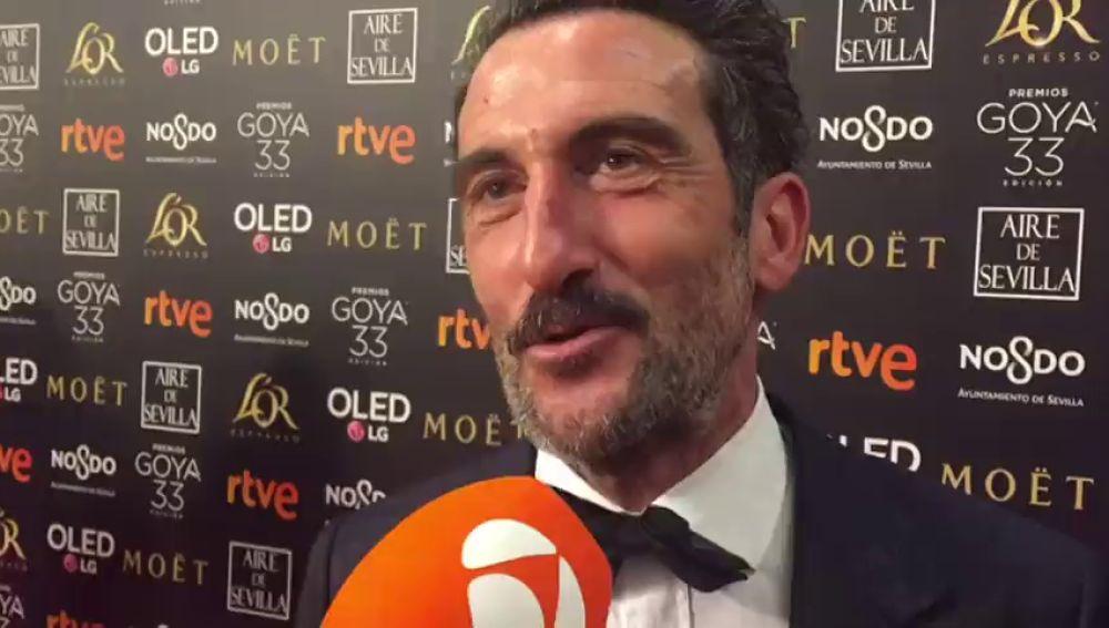 """Luis Zahera: """"Me siento como un niño el día de Reyes"""""""