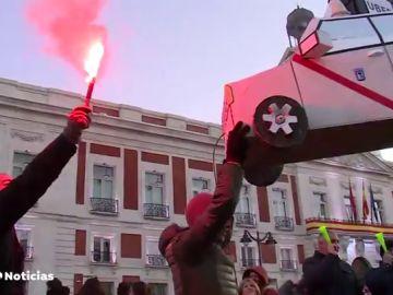 Las protestas de los taxistas madrileños pierden fuerza tras 14 días de huelga sin conseguir sus reivindicaciones