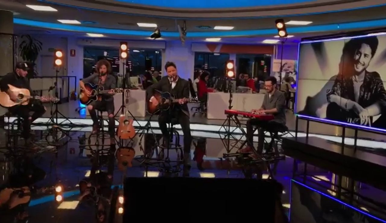 Manuel Carrasco canta 'Me gusta' en exclusiva para la web de Antena 3 Noticias
