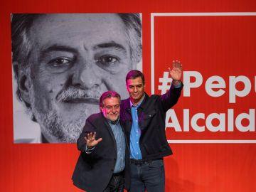 Pepu Hernández y Pedro Sánchez